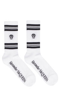 Cotton sport socks, Socks Alexander McQueen man