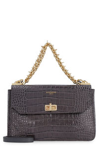 Crocodile effect leather bag, Top handle Givenchy woman