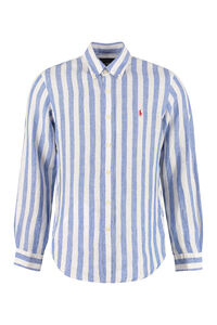 Striped linen shirt, Striped Shirts Polo Ralph Lauren man