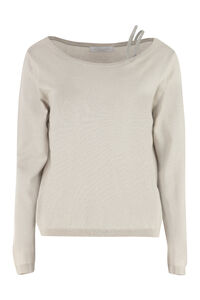 Virgin wool blend sweater, Crew neck sweaters Fabiana Filippi woman