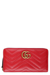 GG Marmont zip-around leather wallet, Wallets Gucci woman