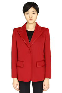 Single-breasted one-button blazer, Blazers Fendi woman