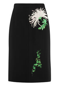 Printed pencil skirt, Pencil skirts N°21 woman
