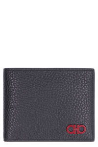 Grainy leather wallet, Wallets Salvatore Ferragamo man