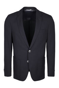 Halyon single-breasted two button jacket, Single breasted blazers BOSS man