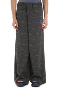 Wool blend trousers, Casual trousers Off-White man