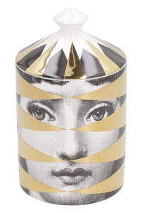 Gold Losanghe scented candle, 300g, Candles & home fragrances Fornasetti woman