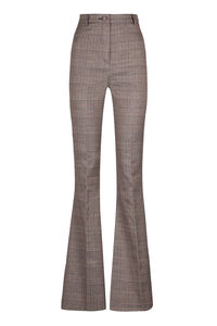Bianca Prince of Wales trousers, Flared pants Hebe Studio woman