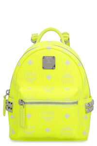 Stark Neon Visetos mini-backpack with studs, Backpack MCM woman