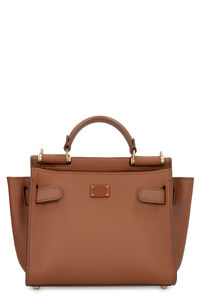 Sicily Soft leather handbag, Top handle Dolce & Gabbana woman