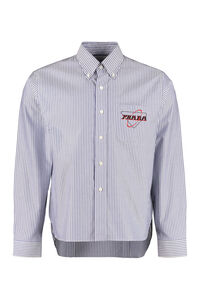 Striped cotton shirt, Striped Shirts Prada man