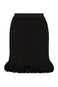 Fringed knit skirt, Mini skirts Bottega Veneta woman