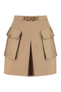 Cotton mini-skirt, Mini skirts Elisabetta Franchi woman