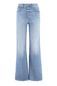 The Tomcat Roller Fray jeans, Wide Leg Jeans Mother woman
