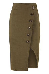 Bontan button pencil skirt, Pencil skirts Pinko woman
