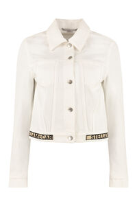 Cropped denim jacket, Denim Jackets Stella McCartney woman