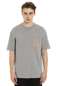 Chest pocket cotton t-shirt, Short sleeve t-shirts CALVIN KLEIN JEANS EST. 1978 man