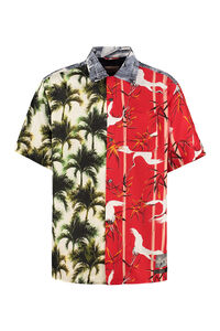 Tutti Frutti printed short sleeve shirt, Short sleeve Shirts Buscemi man