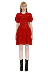 Knitted lace dress, Mini dresses Self-Portrait woman