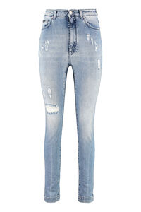 High-rise Grace-fit jeans, Skinny Leg Jeans Dolce & Gabbana woman