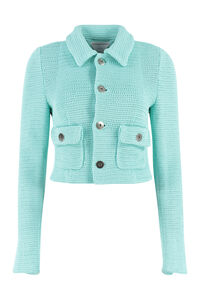 Knitted jacket with maxi buttons, Casual Jackets Bottega Veneta woman