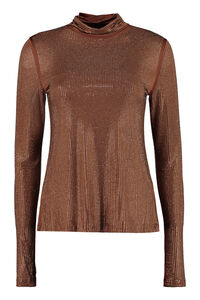 Pianeta embellished top, Long sleeved Pinko woman