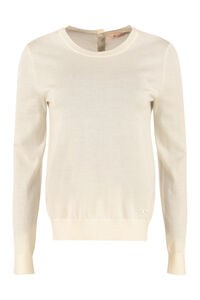 Iberia cashmere sweater, Crew neck sweaters Tory Burch woman