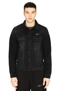 Printed denim jacket, Denim jackets Off-White man