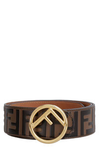 Leather belt with metal buckle, Belts Fendi woman