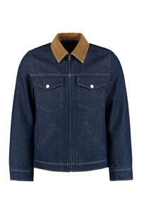 Linden padded denim jacket, Denim jackets A.P.C. man