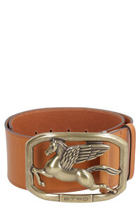 Calf leather belt with buckle, Belts Etro woman