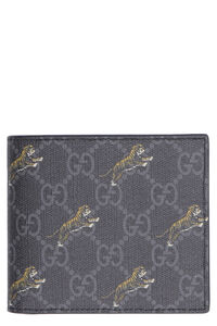All-over logo print flap-over wallet, Wallets Gucci man
