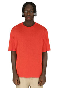 Slub jersey T-shirt, Short sleeve t-shirts AMI man