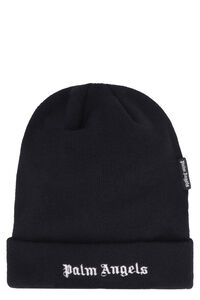 Ribbed knit beanie, Hats Palm Angels man