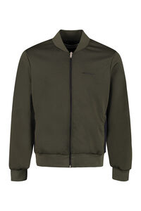 Aiden side stripe full zip sweatshirt, Zip through Golden Goose man