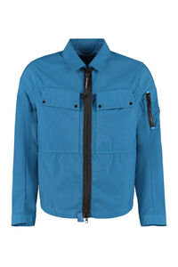 Taylon technical fabric overshirt, Raincoats And Windbreaker C.P. Company man