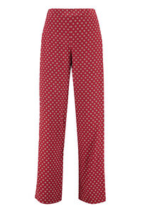 Printed silk pants, Wide leg pants MICHAEL MICHAEL KORS woman