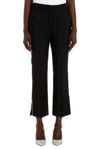 Pinstriped wool trousers, Trousers suits Stella McCartney woman