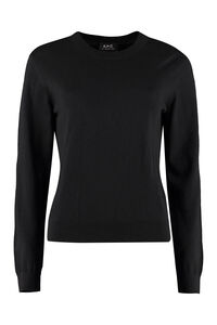 Juliette cotton-cashmere blend pullover, Crew neck sweaters A.P.C. woman