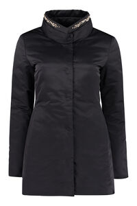 Nylon padded jacket, Casual Jackets add woman