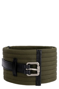 Fox fabric belt with logo, Belts Pinko woman