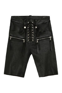 Leather cyclist shorts, Shorts Unravel Project woman