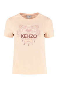 T-shirt Tiger in cotone, T-shirt Kenzo woman