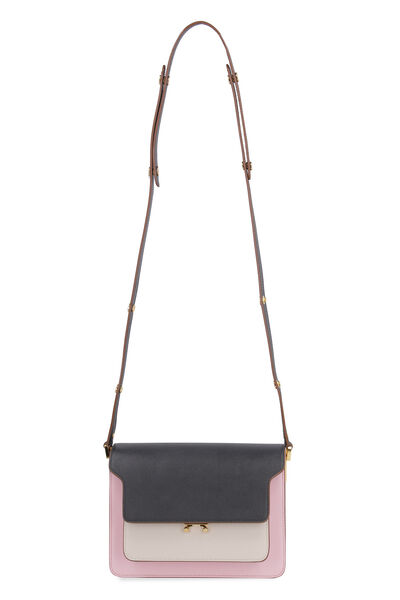 Trunk leather bag