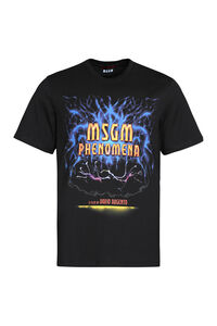 Dario Argento x MSGM printed cotton T-shirt, Short sleeve t-shirts MSGM man