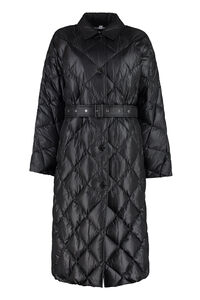 Belted long down jacket, Down Jackets Burberry woman