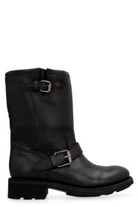 Toxic leather boots, Ankle Boots Ash woman