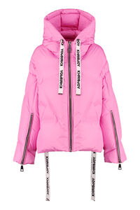 Khris Puffer hooded down jacket, Down Jackets Khrisjoy woman