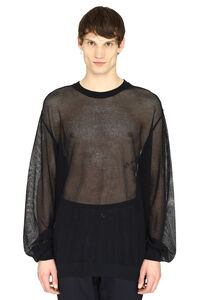 Cotton mesh sweater, Crew necks sweaters Maison Margiela man