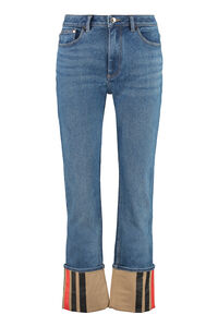 5-pocket jeans, Skinny Leg Jeans Burberry woman